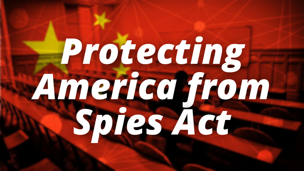 Protecting America from Spies Act